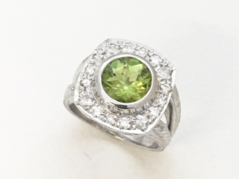 Peridot Maryke Ring by John Wade
